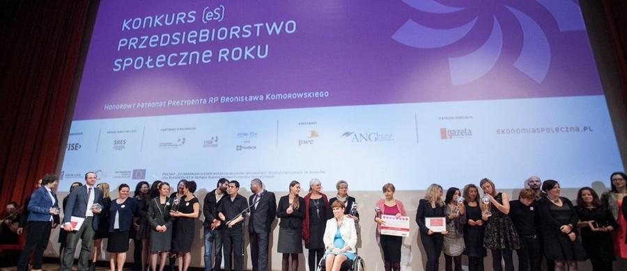 Konkurs na Najlepsze Przedsiębiorstwo Społeczne Roku