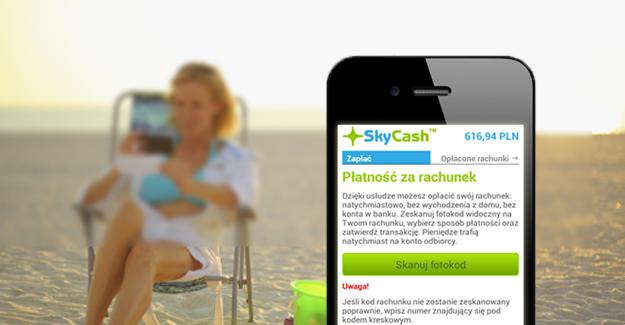 Płatności za rachunki w SkyCash