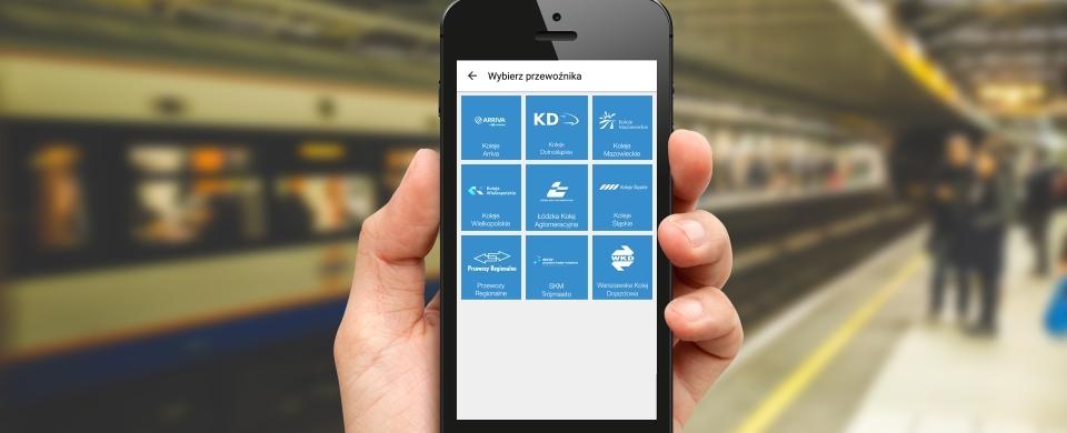 Bilety kolejowe w aplikacji SkyCash