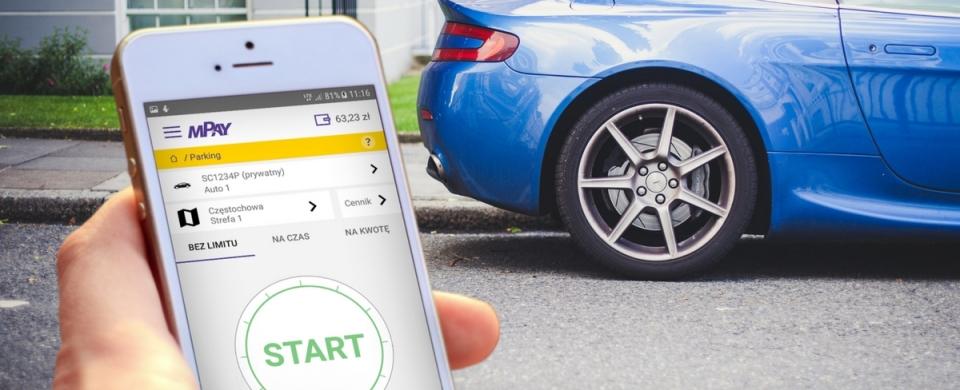Parkowanie w aplikacji mPay
